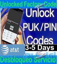 At&t Samsung Unlock Service PUK Fix Problem S8, S9, Note 8, Note 9 S10 S10 plus