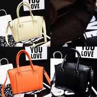 Women Leather Handbag Office Lady Tote Messenger Shoulder Bag Satchel Cross Body