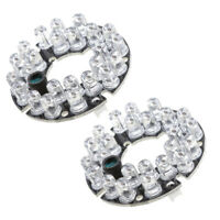 2x 24 Infrared IR LED 850nm Board Module for CCTV Camera Surveillance System
