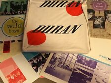 DURAN DURAN 5 MAXI SINGLES GREECE 12 X 5 IN CANVAS CARRY BAG VERY RARE
