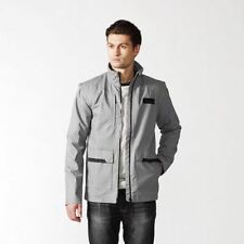 adidas Cotton Zip Neck Regular Size Coats & Jackets for Men