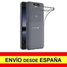 Funda Silicona para ZTE BLADE V8 Carcasa Transparente ¡España! a2858