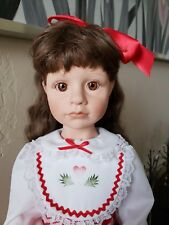 "21"" Julie Good Kruger ""Christmas Cookie"" Vinyl Collectors Doll from 1999 #309"