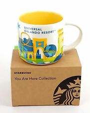 New Universal Studios Orlando Starbucks YAH You Are Here Coffee Mug Cup 2016