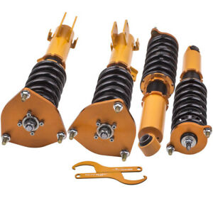 Coilover Lowering Kit for Mitsubishi Galant 99-03 Adjust Height Shock Absorber