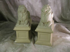 1965 AMR Alva Museum Replica Lion Bookends