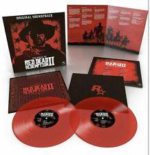 Red Dead Redemption II (2) (Two) Original Soundtrack Coloured Vinyl 2 x LP OST