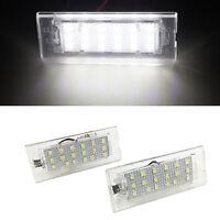 2PCS Error Free 18LED Number License Plate Light Lamp Bulb For BMW X3 X5 E53 E83