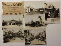 12 Originalfotografien von Kobe Japan um 1930 Geografie Architektur Fotokunst sf