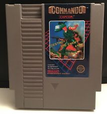 Commando NES (Nintendo Entertainment System, 1986) Game