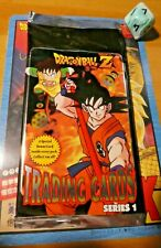 DRAGON BALL Z TRADING CARDS CARTES RARE SERIES 1 BOOSTER PACK 1999 NEW SEALED