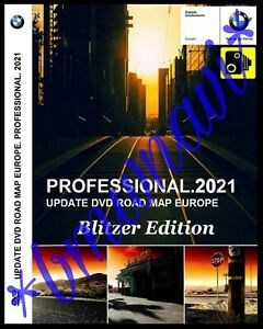BMW PROFESSIONAL NAVIGATION DVD SET 2021 BLITZER DATEN ROAD MAP UPDATE CCC SA609