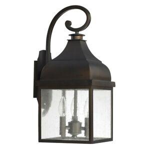 Capital Lighting Outdoor Wall Lantern - 9642OB