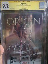 Origins 2 Ii #1 9.2 White Pages, Cgc Ss Stan Lee, Len Wein, Adam Kubert Rare