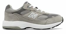 New Balance Unissex Kid's 993V1 Big Kids sapatos entressola IMEVA Cinza Com Branco
