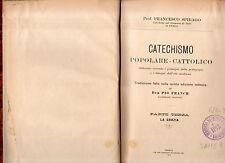 lcatechismo popolare cattolico - prof francesco spirago - parte terza-la grazia