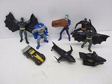 Batman Returns ERTL Diecast Bat Ski Boat Batmobile Windup + Action Figures