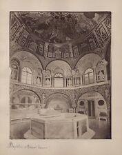Baptistère Orthodoxe Ravenne Ravenna Italie Italia Vintage albumine ca 1870