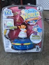 Dora's World Adventure Plug & Play Electronic Game Jakks Pacific Dora Explorer