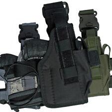 MFH Pistolenbeinholster Nato für gängige Kurzwaffen abnehmbare Oberschenkelgurte