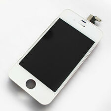 LCD Digitizer iPhone 4 White Touch Screen Display Lens Assembly Replacement