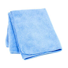 4x Light Blue Microfibre Cleaning Cloth Towels Car Polishing Detailing Wash Wax