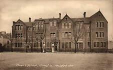 Islington. Owen's School, Founded 1613. Card by P.A. Buchanan & Co.