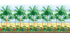 Hawaïen Décoration pour Fête Tropical Palmiers Salle Rouleau