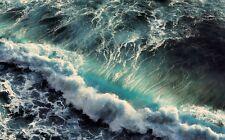 NEW LARGE WAVE CRASHING ROUGH SEA SURF WATER WALL ART PRINT PREMIUM POSTER