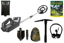 Visua principianti METAL DETECTOR BOBINA IMPERMEABILE CUFFIE scegli le batterie & Guida