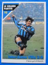 MASTERS CARDS INTER - N. 98 - LE GRANDI PARTITE - INTER-ASTON VILLA 3-0