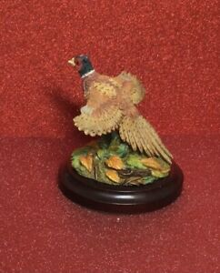 COUNTRY ARTISTS BIRDS - MINIATURE PHEASANT RISING