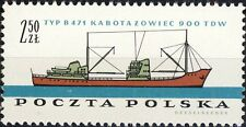 POLOGNE / POLAND - 1961 - 2.50Zl. Coaster Ship Mi.1240 - Mint**
