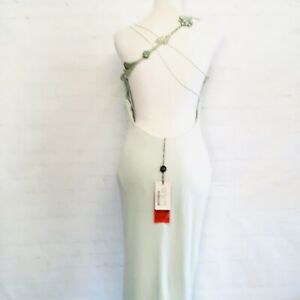 Gianni Versace Haute Couture Embellished Evening Dress Gown