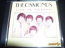 The Osmonds Live In Concert – Rare Australian (Rainbow) CD