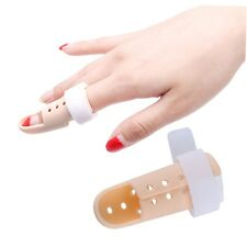 Plastic Mallet Finger Splint Joint Support Brace Protection Pain Relief New I4