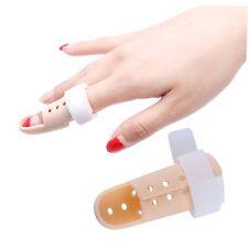 Plastic Mallet Finger Splint Joint Support Brace Protection Pain Relief G#