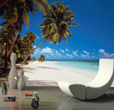 LUXURY Wall Mural Photo Wallpaper MALDIVES BAY BEACH Home Decor Art 388x270cm
