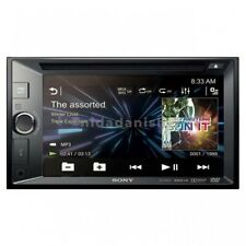 "Sony XAV-W601 Double Din Car DVD Receiver 6.2"" Monitor EQ USB Aux Stereo Radio"