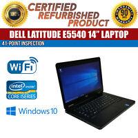 """C Grade Dell Latitude E5540 15.6"""" Intel i5 8GB RAM 320GB HDD Win 10 WiFi Laptop"""