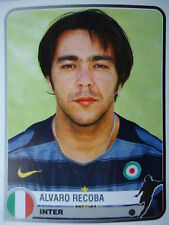 PANINI 161 ALVARO RECOBA Inter Milano Champions of Europe 1955 - 2005