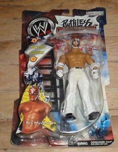 2001 WWF WWE Jakks Rey Mysterio03 Ruthless Aggression Wrestling Figure Series 1