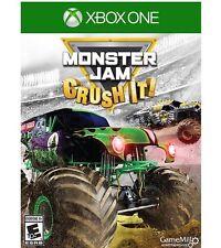 Monster Jam Crush It XBOX ONE 1 Brand New Sealed Trucks Gravedigger