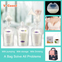 20Pcs 200ml Infant Baby Breastmilk Supply Bag Preservation Pouch Holder Eager
