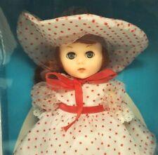 """World of Ginny Vogue Dolls Sweet Rosebud 8"""" Poseable Vinyl Doll Blinking Nrfb"""