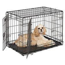 MidWest Homes for Pets Dog Crate   iCrate Single Door & Double Door Dog Crates