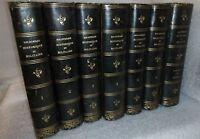 Bibliothèque historique et militaire, reliure signée.7 volumes  Bon état !