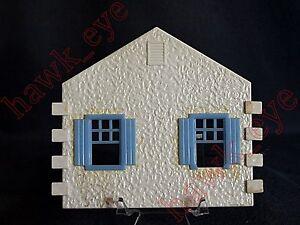 Plasticville Cape Cod House Side Pice W/Windows O-Scale