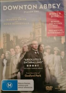 Downton Abbey Series 1 Season One DVD Region 4 New and sealed - Free Postage