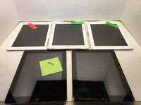 Lot of ( 5 ) Ipads 16GB (2 & 3) for parts only , models A1395(3), A1397, A1416